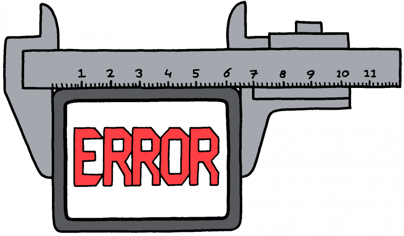 Error illustration